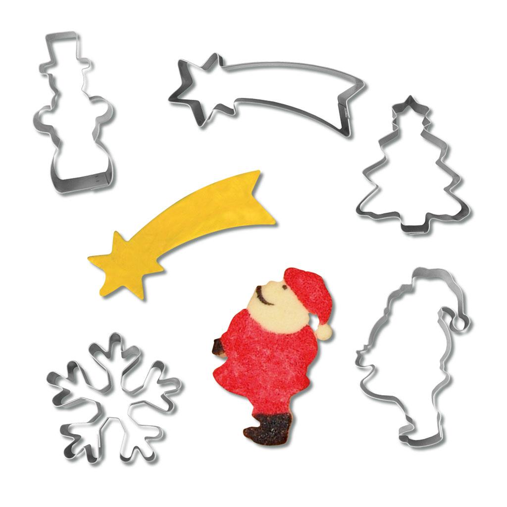 Ausstechformenset - Weihnachten