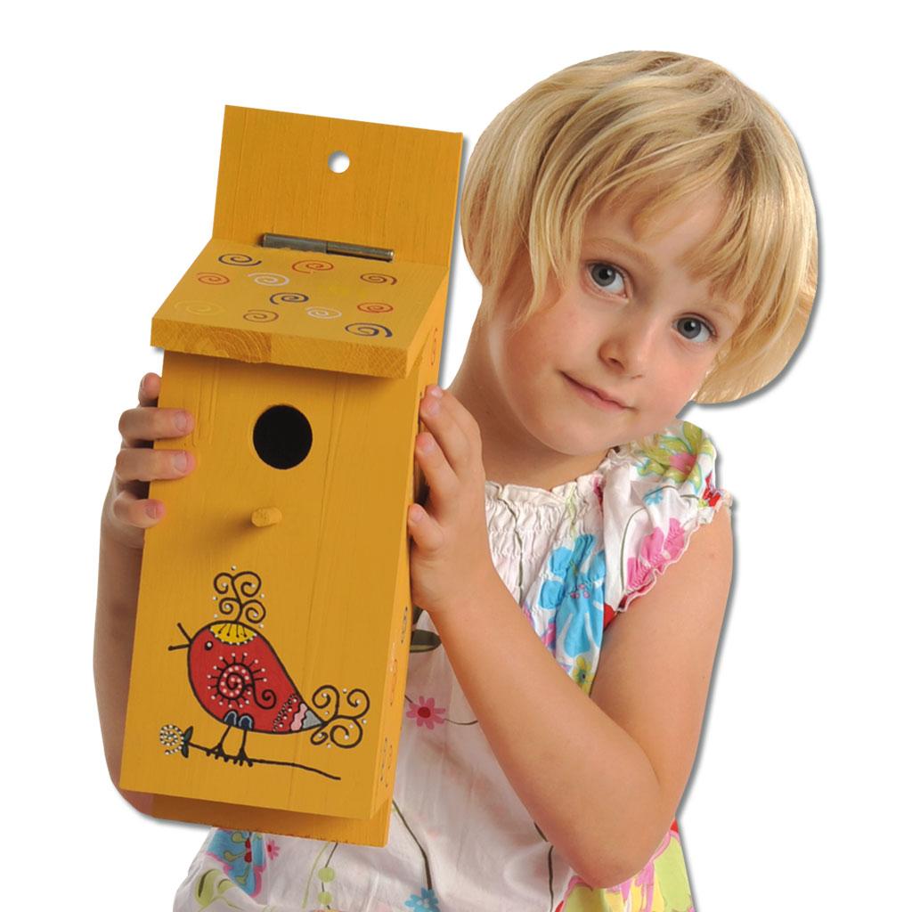 nistkasten-bausatz für kinder - hier im onlineshop bestellen