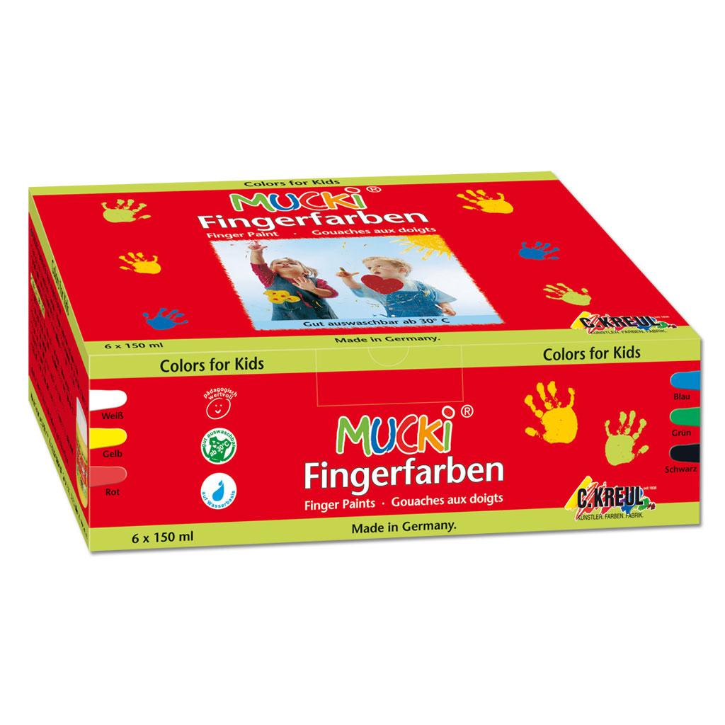 Mucki Fingerfarben