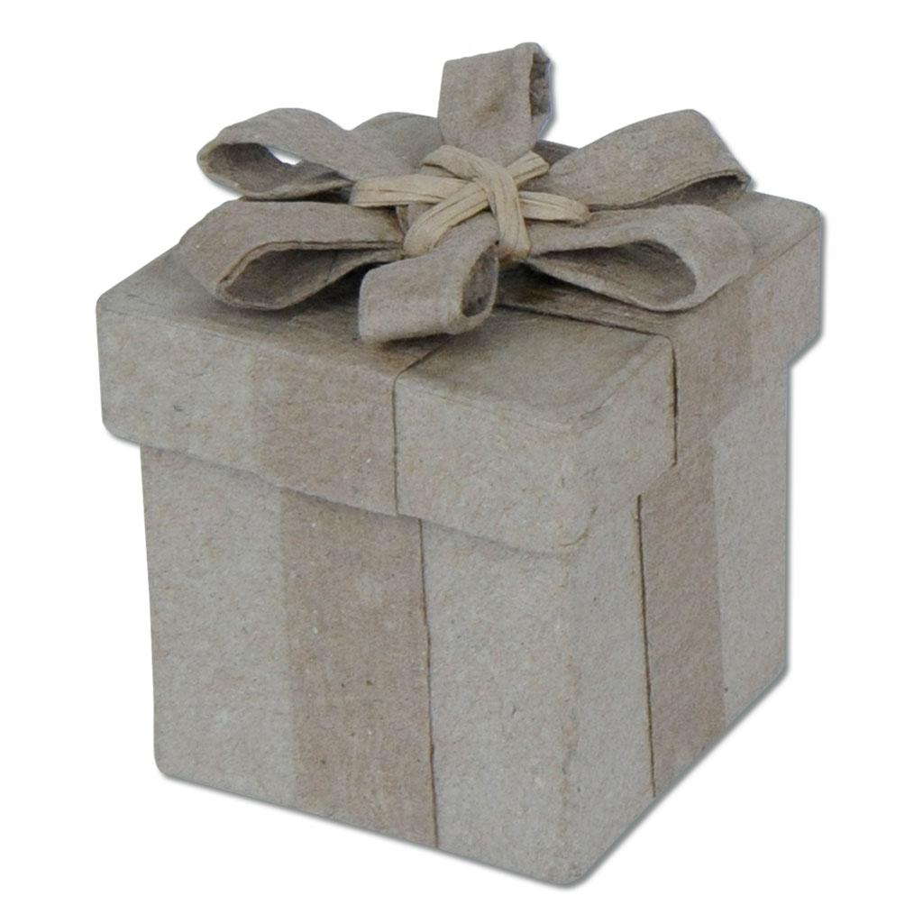 Schachtel mit Schleife klein