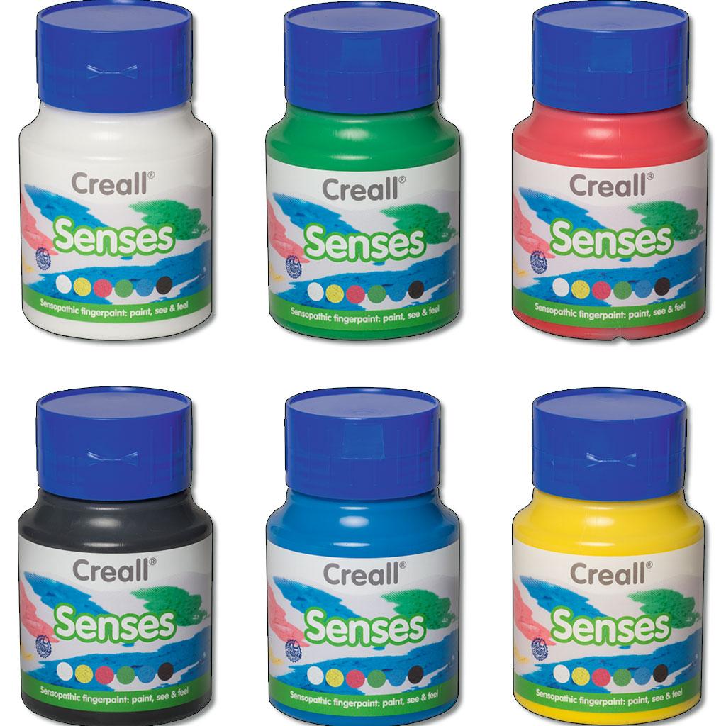 Sensorische Fingerfarbe