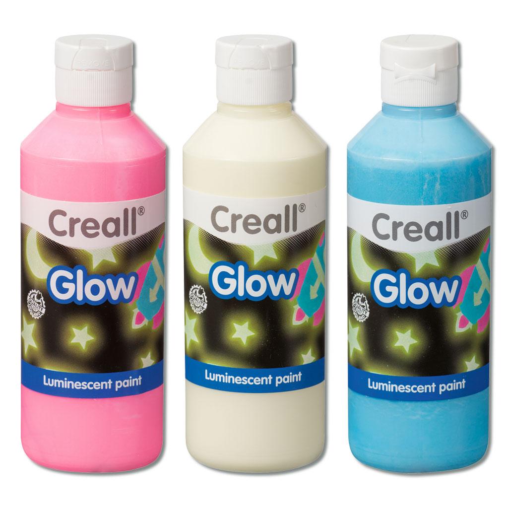 Glow-Leuchtfarben