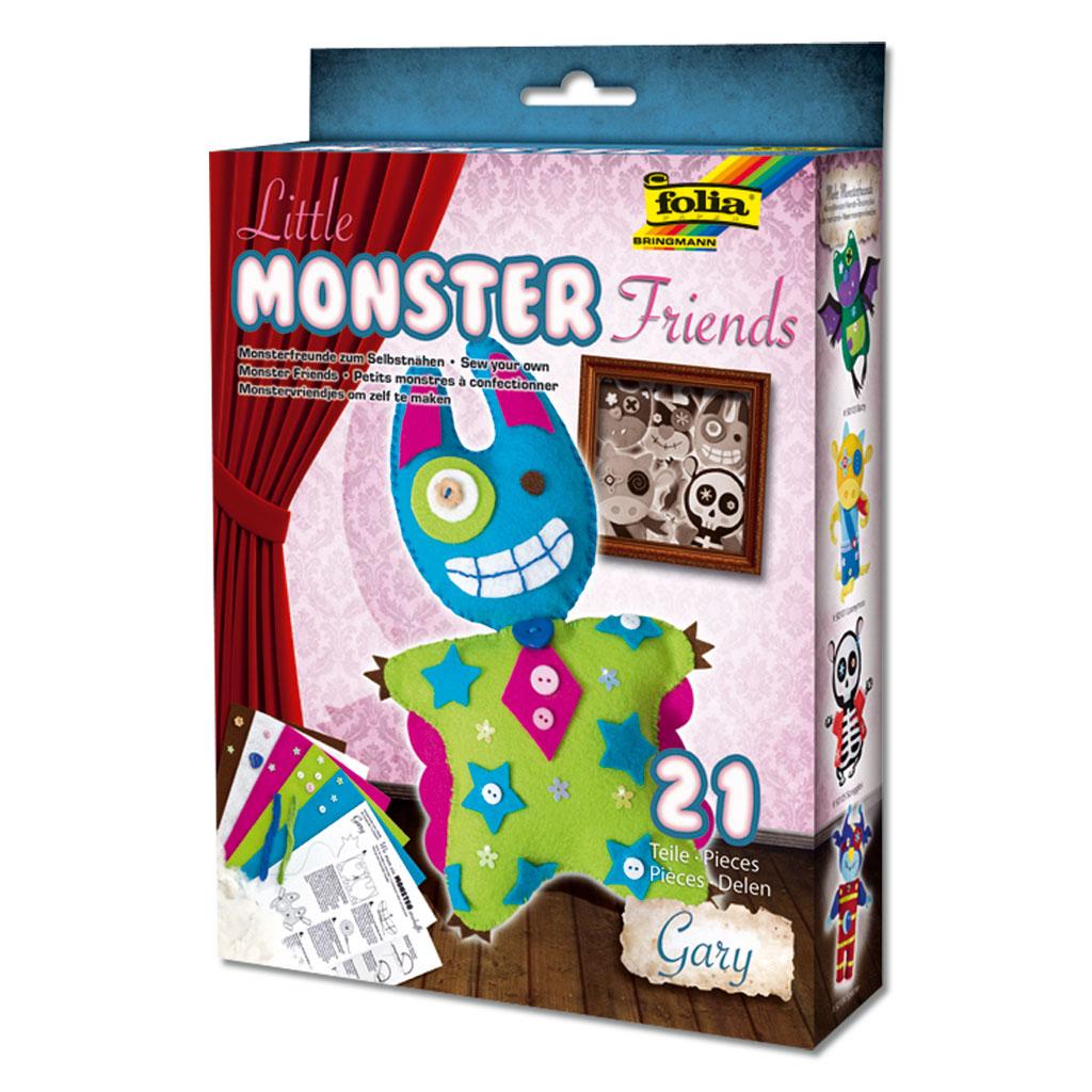 Monsterfreund Gary aus Filz