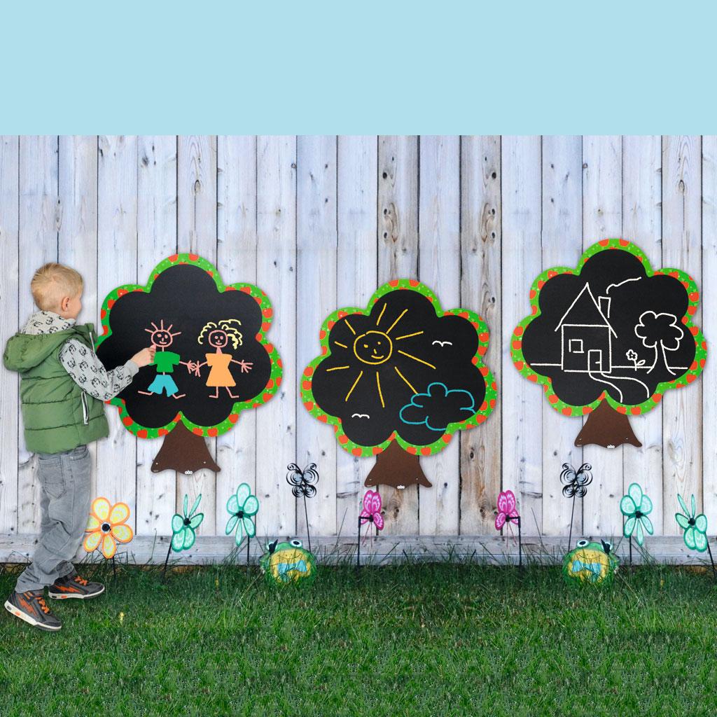 Outdoor-Tafeln für Kinder