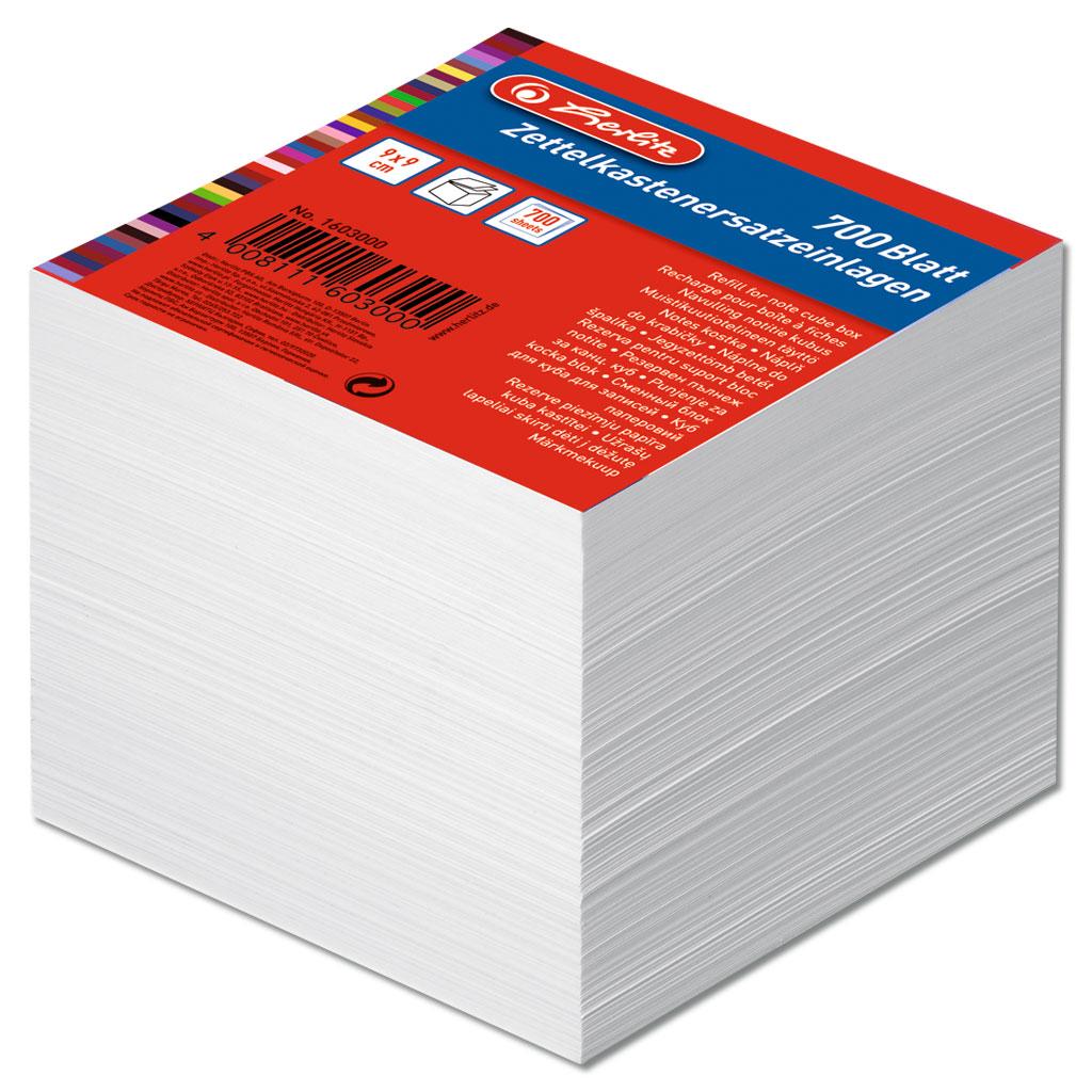 Nachfüllpackung Zettelkasten
