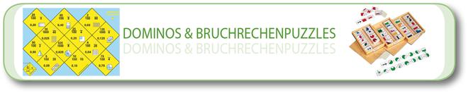 Dominos & Bruchrechenpuzzle