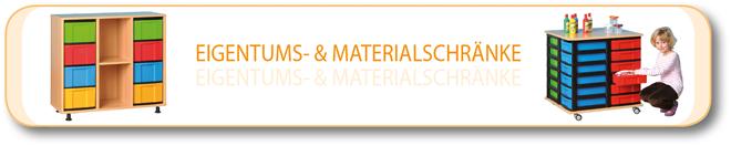 Eigentums- & Materialschränke