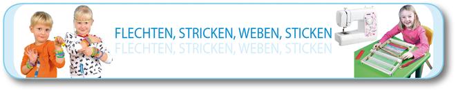 Flechten - Stricken - Weben - Sticken
