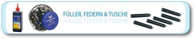 Füller, Federn & Tusche