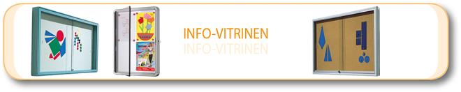 Info-Vitrinen