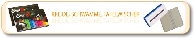 Kreide, Schwämme & Tafelwischer