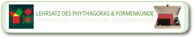 Lehrsatz des Pythagoras & Formenkunde