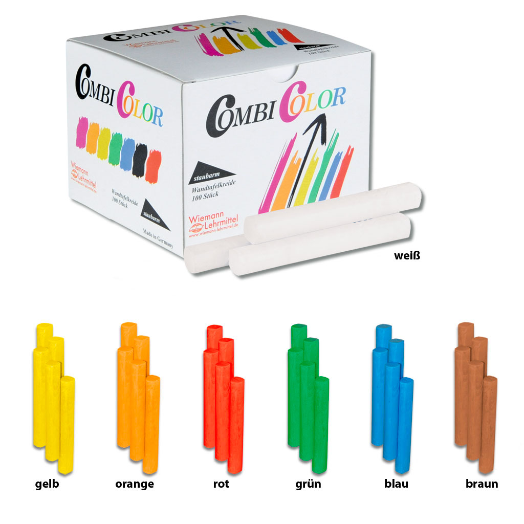 Combi Color Kreide, konvex