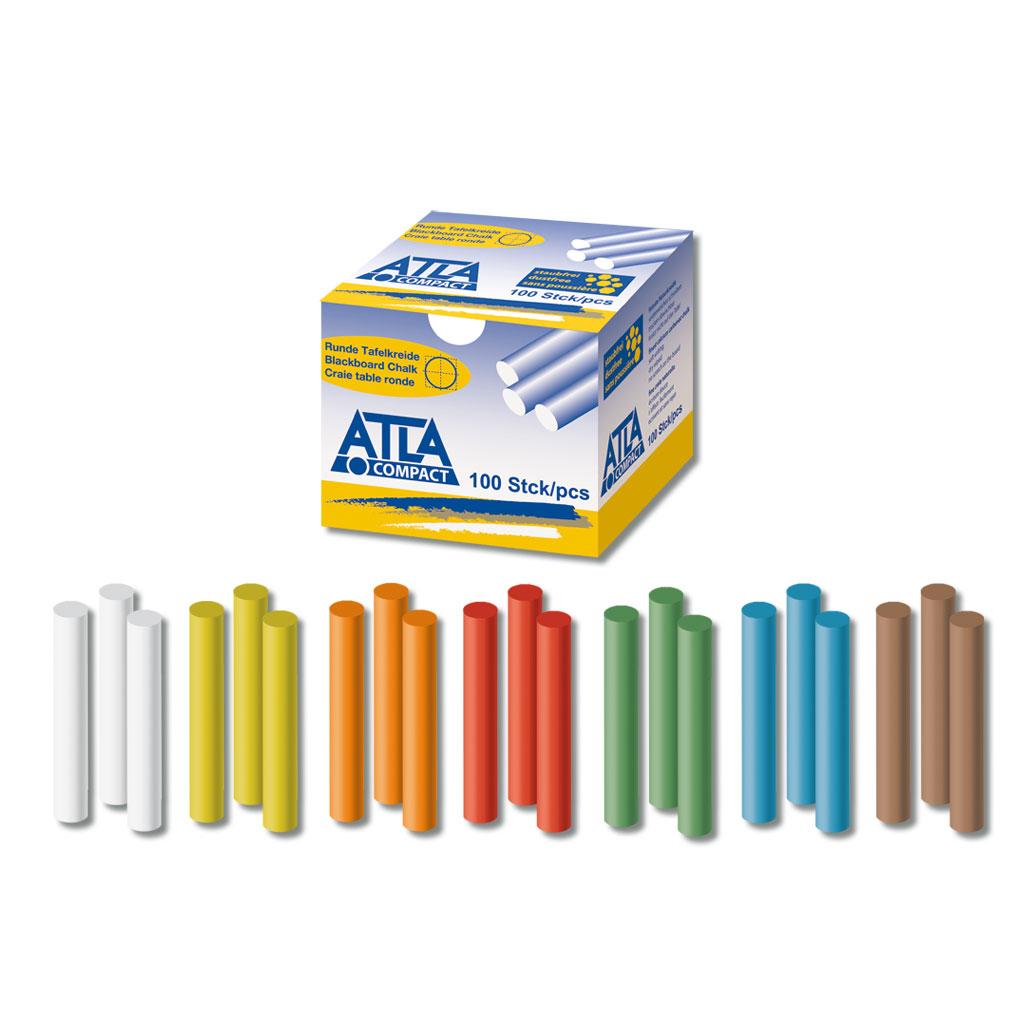 ATLA Compact Hartkreide rund - in verschiedenen Farben lieferbar