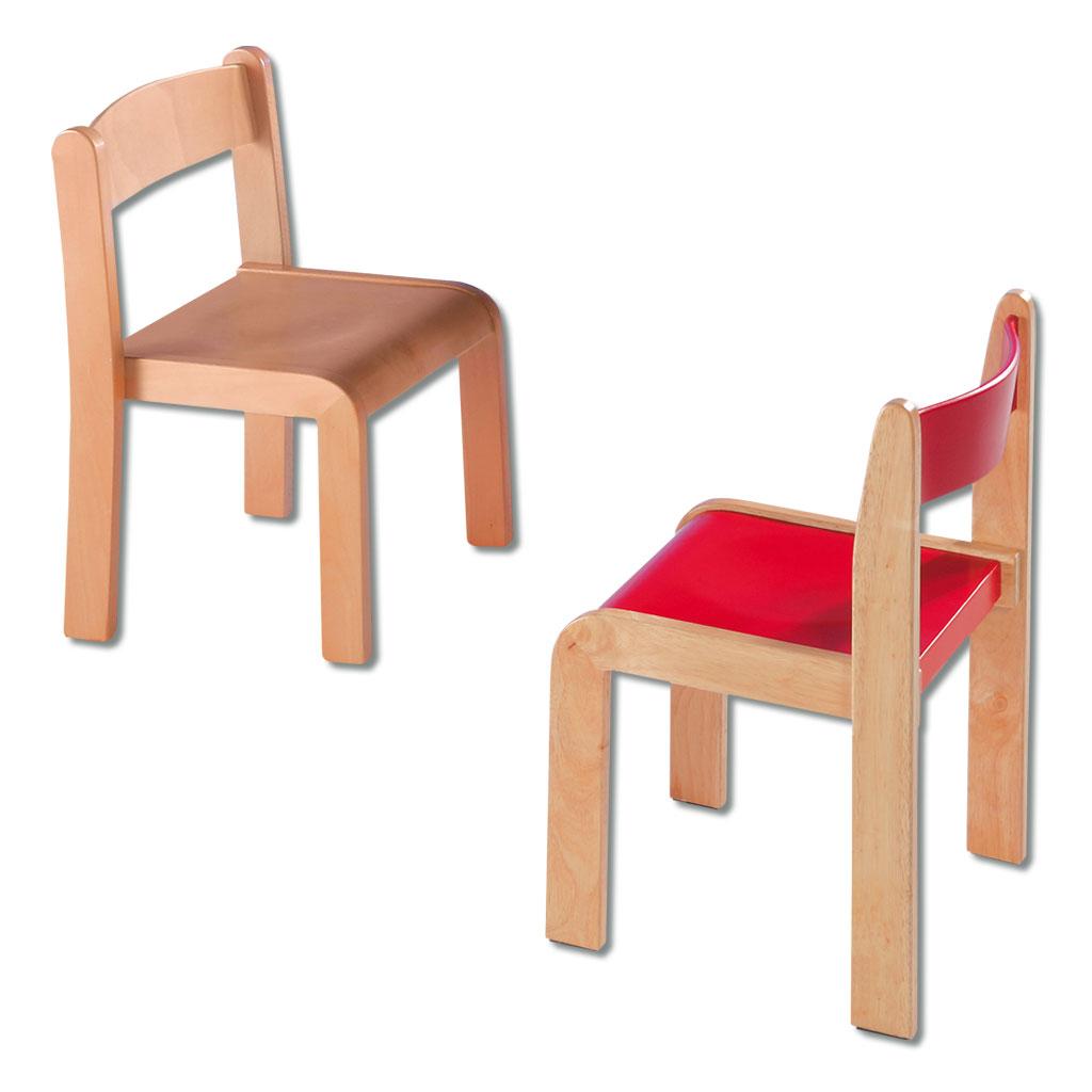 Massivholzstühle stapelbar - in verschiedenen Varianten