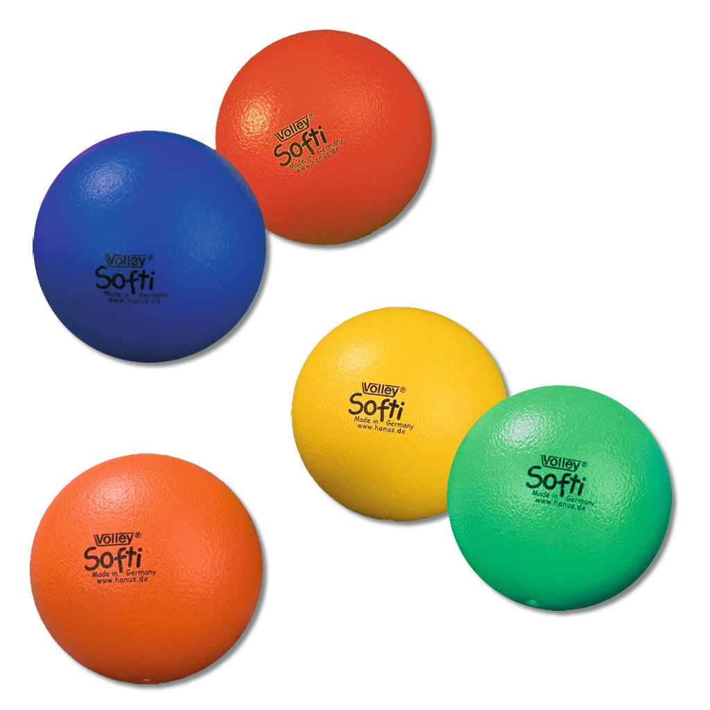 Softi Softbälle VOLLEY® - in 5 Farben lieferbar