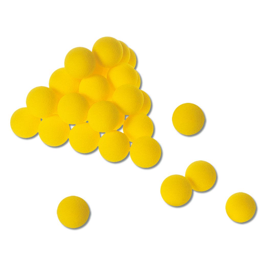 Tischtennis-Softball - verschiedene Mengen