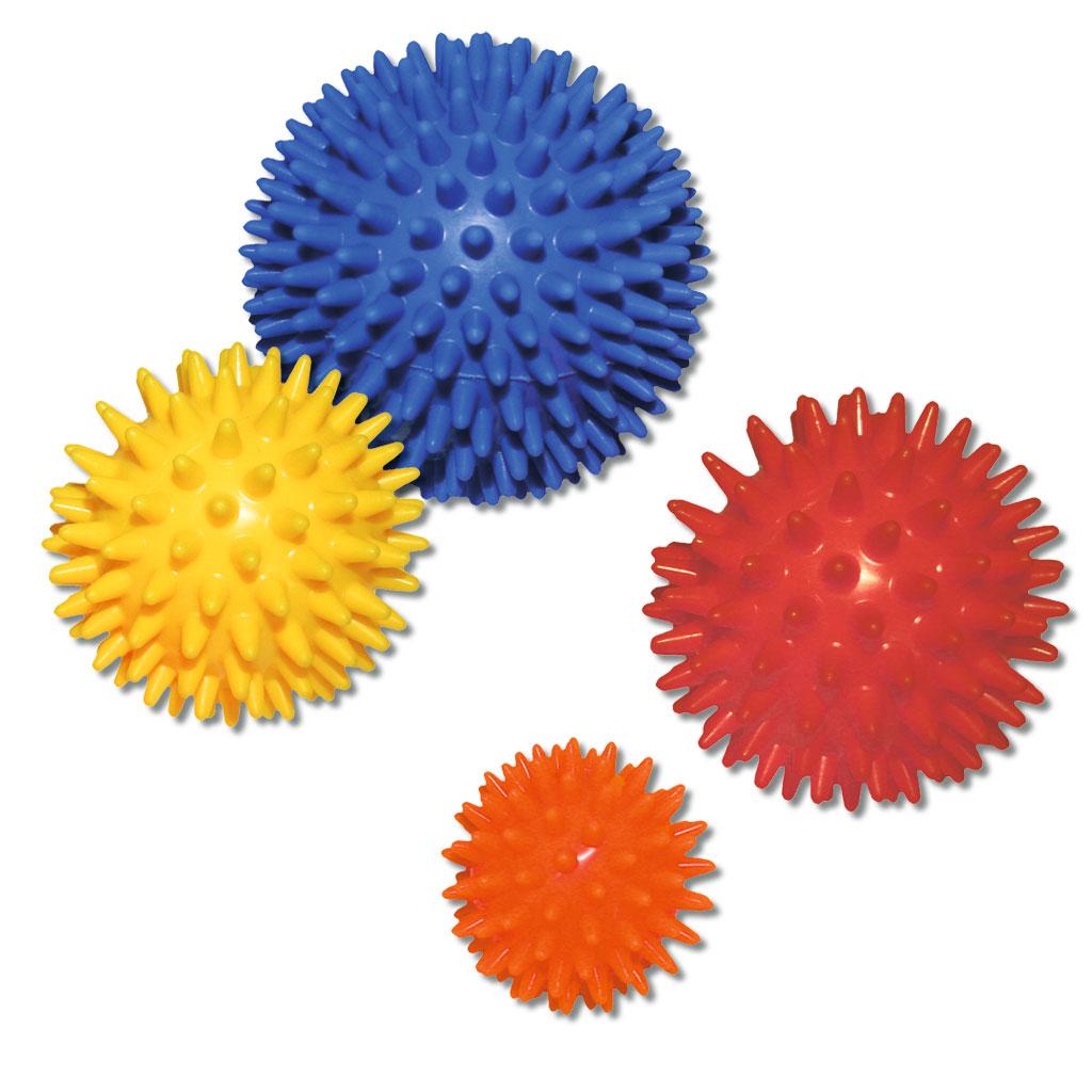 Igelball mit langen Noppen - verschiedene Größen