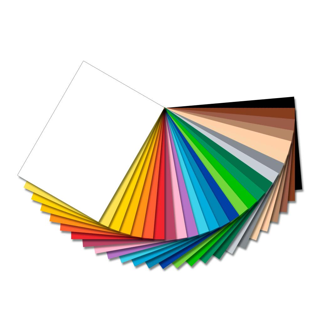 Fotokarton 300g/m² - 50 Bogen in einer Farbe