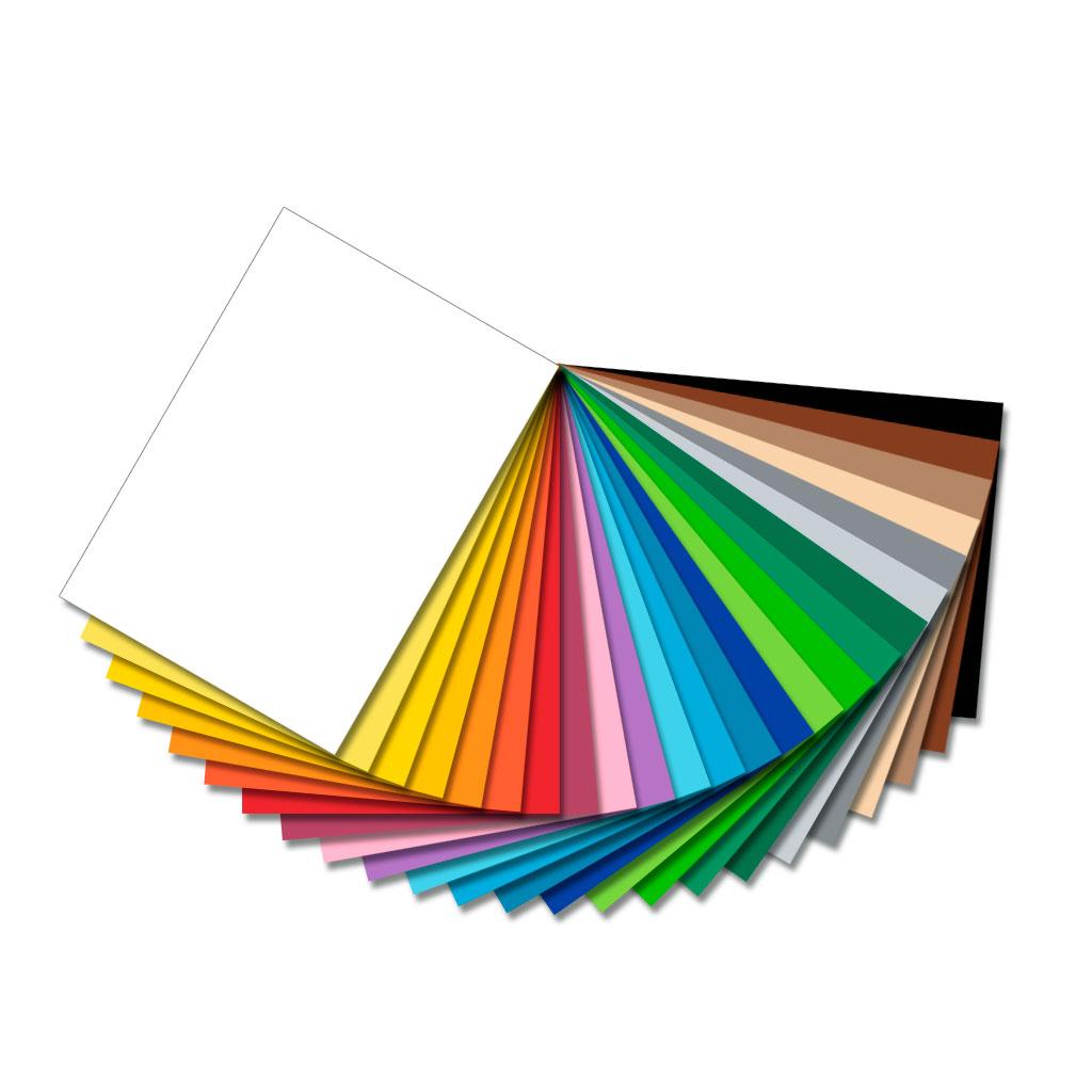 Fotokarton 220g/m² - in 23 verschiedenen Farben lieferbar