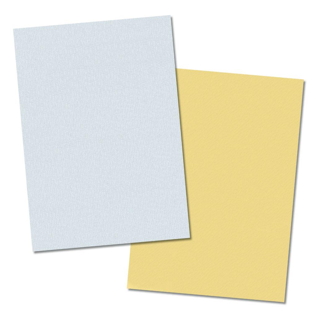 Tonzeichenpapier 130g/m² - in silber und gold