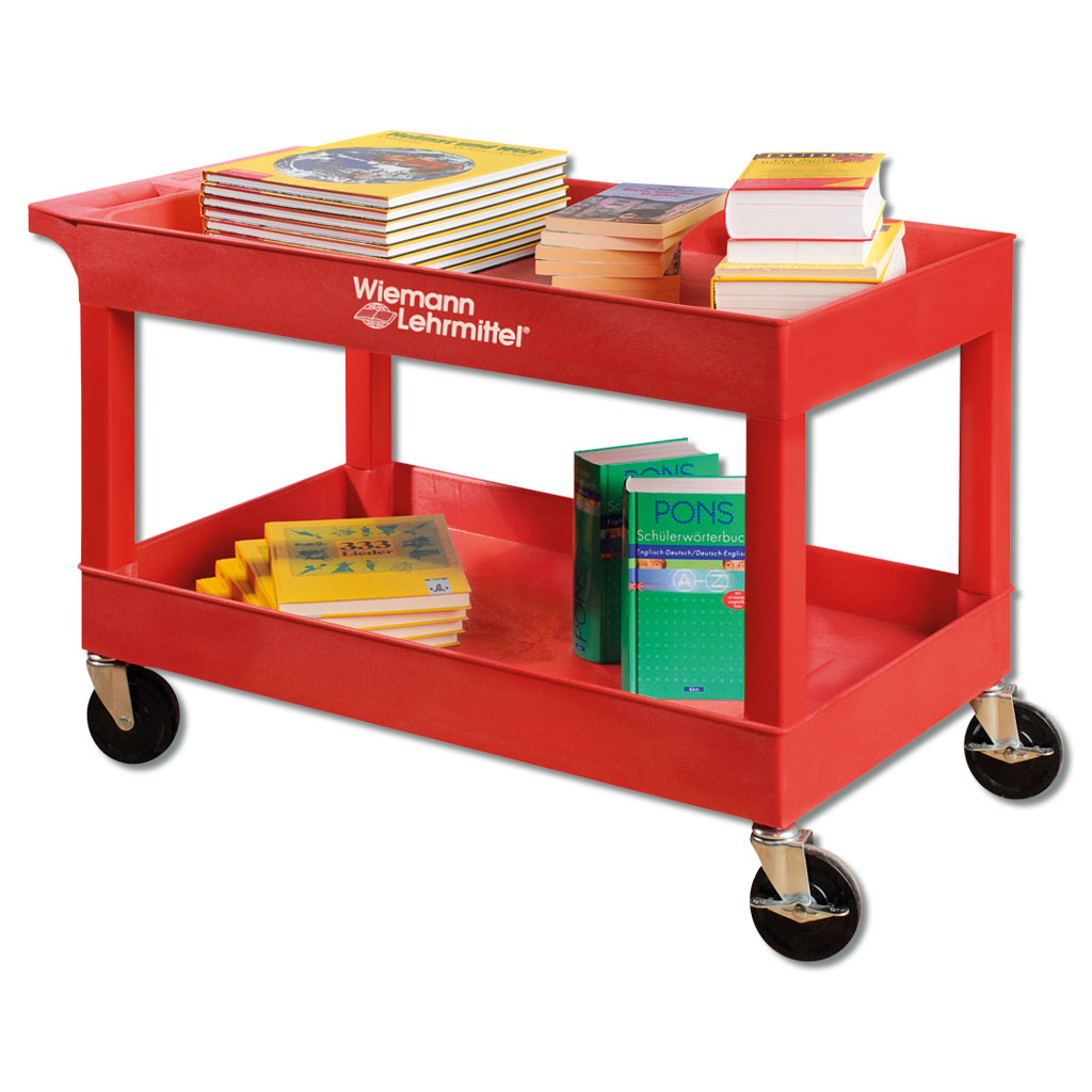 Kleine Servier- und Bücherwagen - in 3 Farben lieferbar