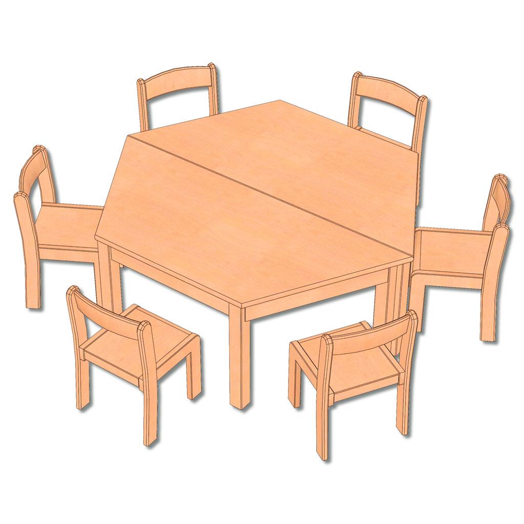 8-teiliges Möbel-Set - in 5 Höhen lieferbar