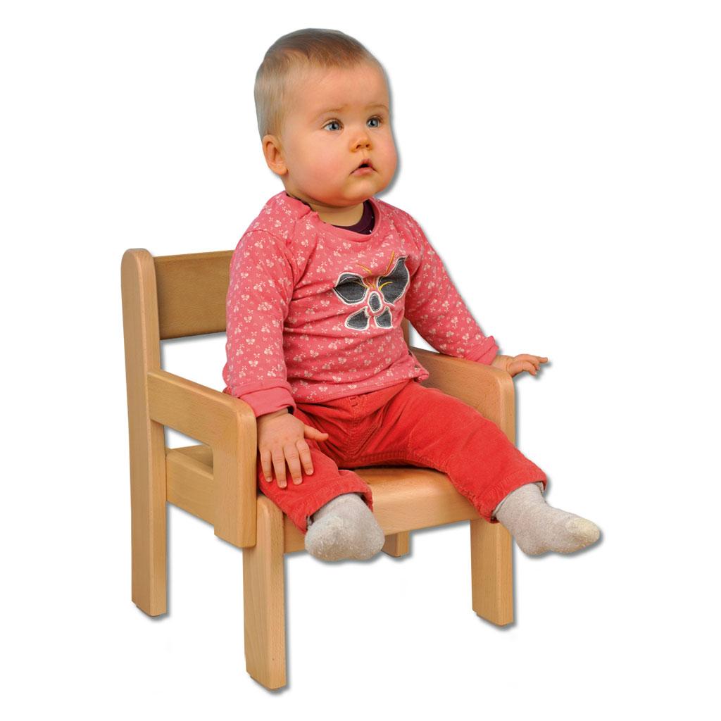 Krippenstühle mit Armlehne - in 3 Sitzhöhen