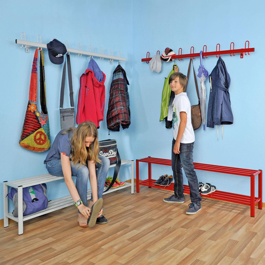 schuhregal 1 m breit feuerrot w 43858. Black Bedroom Furniture Sets. Home Design Ideas