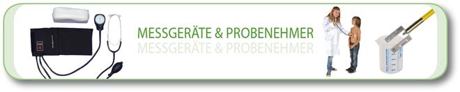 Messgeräte und Probenehmer