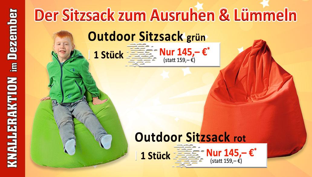 Knallerprodukte des Monats Dezember: In- und Outdoor Sitzsäcke für Kinder