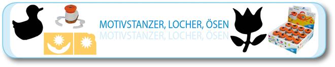 Motivstanzer, Locher, Ösen