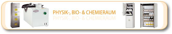 Physik-, Bio- und Chemieraum