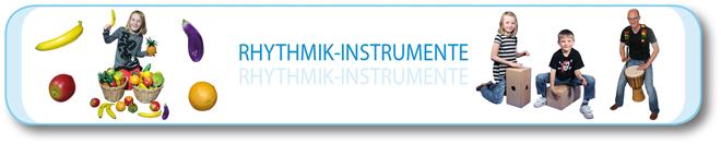 Rhythmik-Instrumente