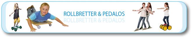Rollbretter & Pedalos
