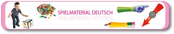 Spielmaterial Deutsch
