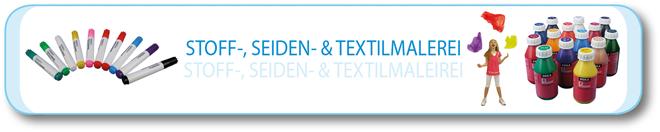 Stoff-, Seiden- & Textilmalerei