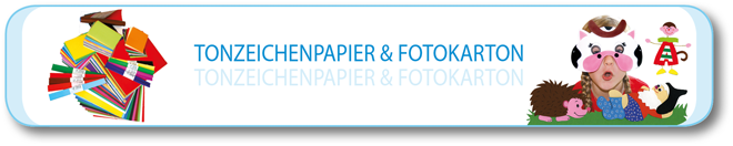 Tonzeichenpapier & Fotokarton
