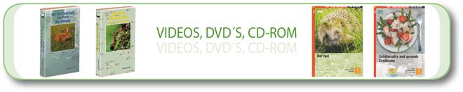 Videos, DVD's, CD-Rom