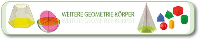 Weitere Geometrie Körper