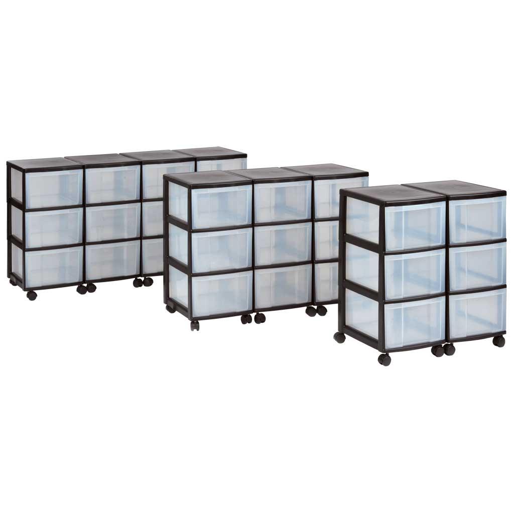 Modulus® Schubladencontainer aus Kunststoff