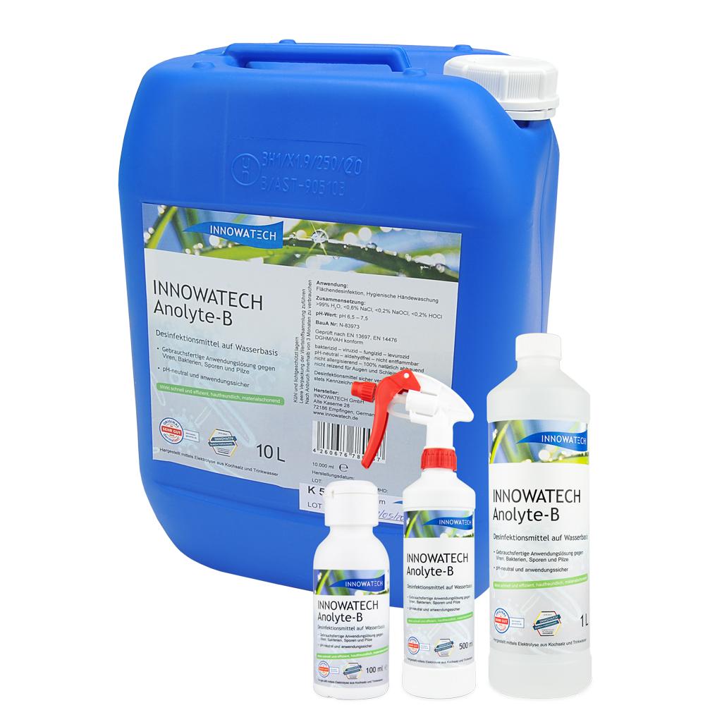 Desinfektionsmittel für Flächen und Hände