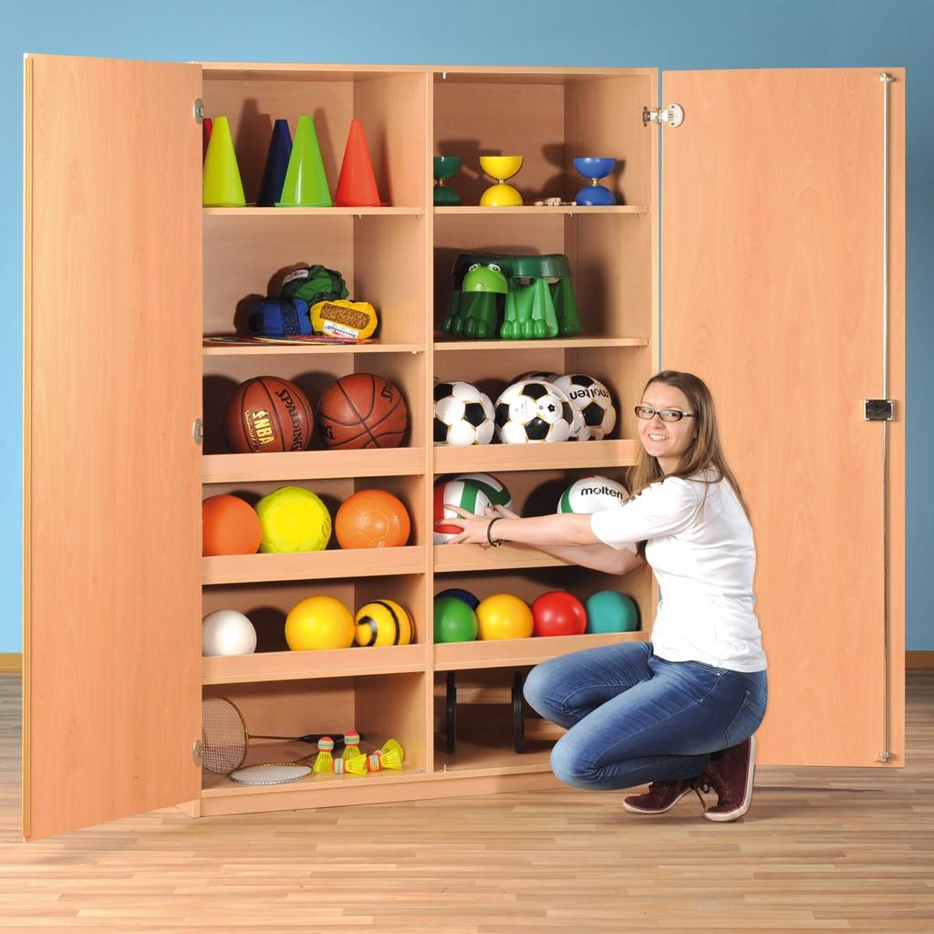 Modulus Großer Sport- und Spielschrank - ohne Gerätehaken