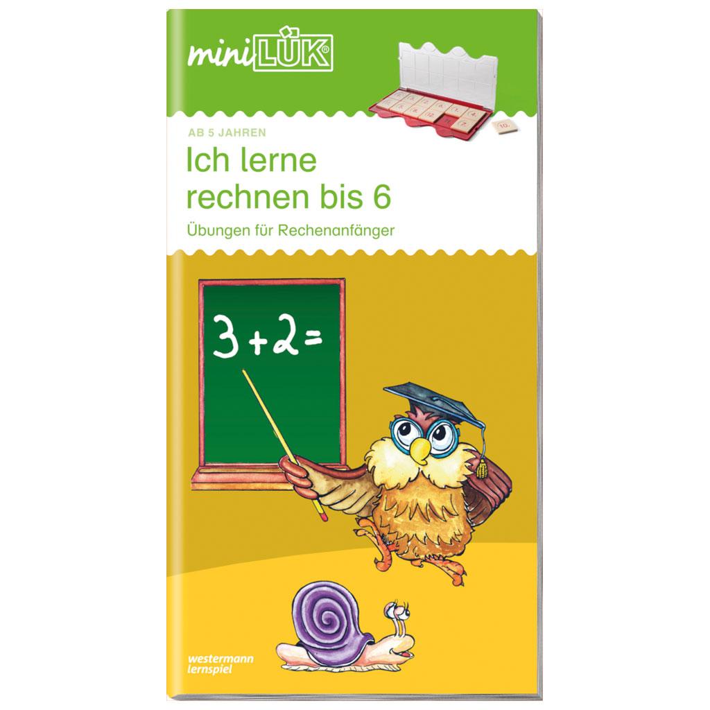 mini-LÜK - Ich lerne rechnen 1