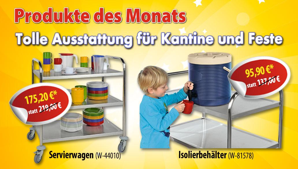 Produkte des Monats November: Praktisches für die Weihnachtsfeier