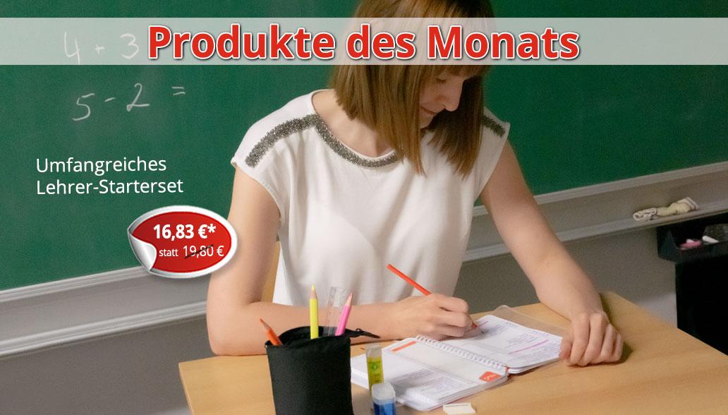 Produkte des Monats Juni: Gut ausgestattet in die Schule starten