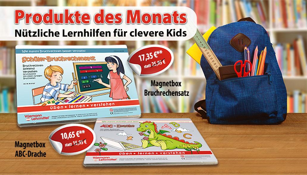 Produkte des Monats Juli: Magnetboxen für spielerisches Lernen