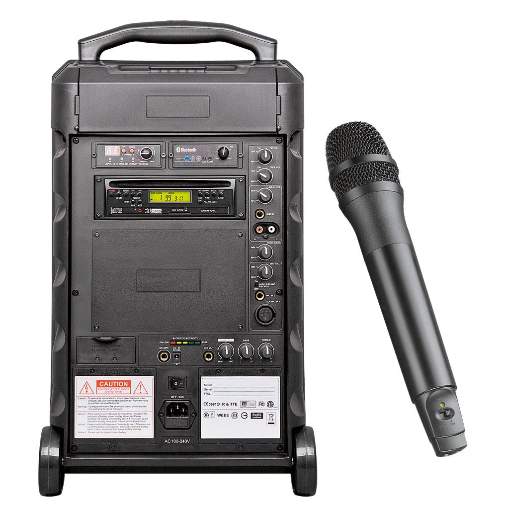RCS® Sound Center DSC 150S2 mit Akku