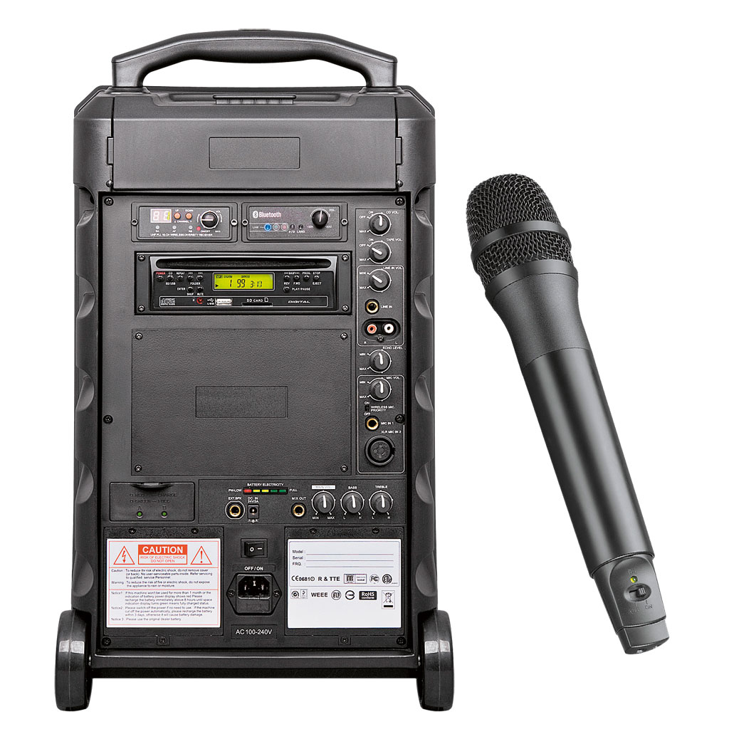 RCS® Sound Center SCW 151 ohne Akku