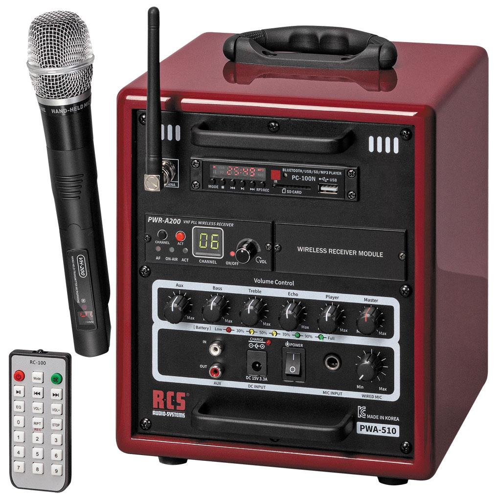 RCS® Sound Center SCW 500 Funk ohne Akku